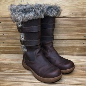 L.L. Bean Insulated Nordic Casual Leather Boots